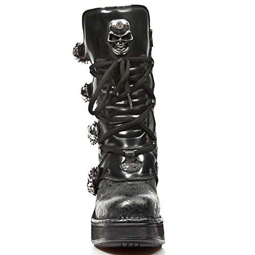 Nieuwe Rock Dames M 8366 S1 Laarzen & Enkellaars Zwart