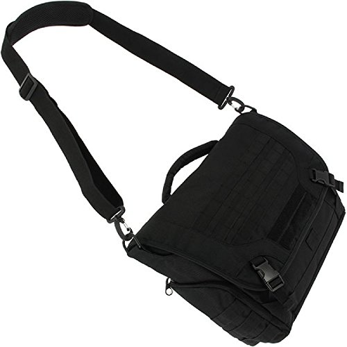 G8DS® Messenger Bag 1200D Schwarz Tool Bag Tragetasche Tasche