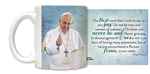 Pope Francis Thumbs Up Mug by Catholic to the Max