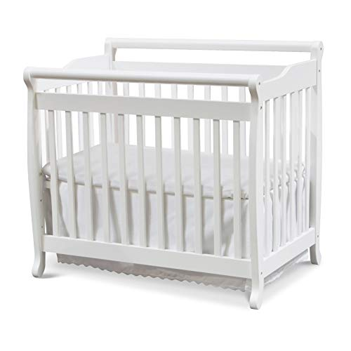 - DaVinci Emily 2-in-1 Mini Crib and Twin Bed in White Finish