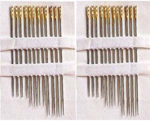 Mágicas agujas, aguja de enhebrar ligero, 24 pcs: Amazon.es: Libros