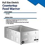 KITMA Buffet Food Warmer, Full-Size Countertop