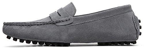 Zapatos JOOMRA para 38 2 Grey Hombre Mocasines 49 7qZqx8fH