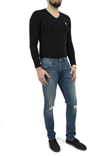 Lee Tapered Jeans Blu Luke Uomo rwfqrE