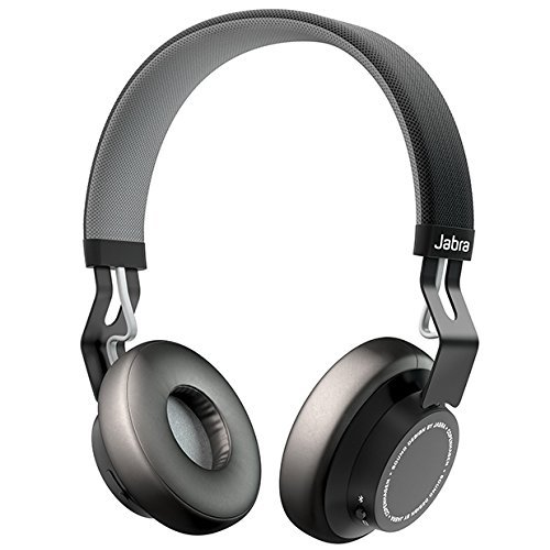 Jabra Move Wireless Stereo Headphones - Black (Renewed)