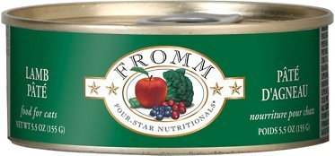 FROMM CAT CAN 4STAR PATE LAMB 5.5oz/12