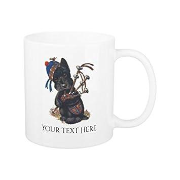 einzigartiges weihnachten geschenk idee fur herren und frauen niedlichen scottie spielen dudelsack personalisieren kaffee tasse geschenke