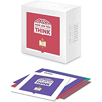 The How Jew You Think Game - (Passover Gift)