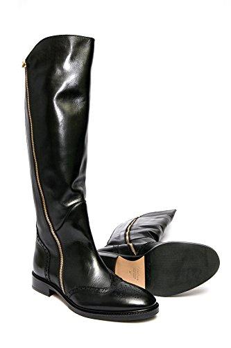 Le Pepe A149830 Womens Black Leather Above-The-Knee Boot. uG1EURUx