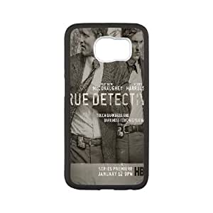 True Detective Samsung Galaxy S6 Cell Phone Case White DIY GIFT pp001_8046166