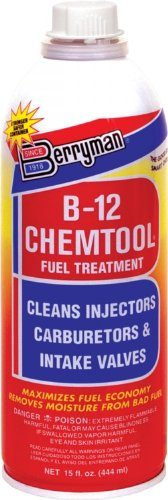 Berryman (0116-12PK) B-12 Chemtool Carburetor/Fuel Treatment and Injector Cleaner - 15 oz., (Pack of 12)