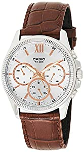 Casio Enticer Analog Silver Dial Men's Watch - MTP-E315L-7AVDF (A1358)
