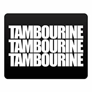 Eddany Tambourine three words Plastic Acrylic