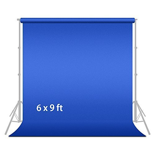 Julius Studio 6 ft X 9 ft Blue Chromakey Photo Video Photography Studio Fabric Backdrop Background Screen, JSAG104V2 by Julius Studio
