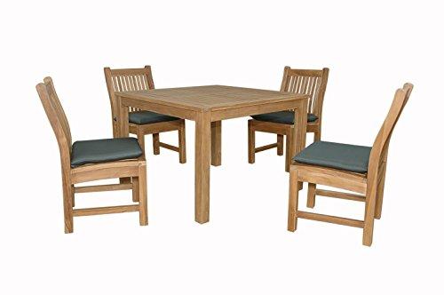 Anderson Teak Chatsworth Bistro Furniture Set with Dining Chair, Dimone (Anderson Teak Furniture)