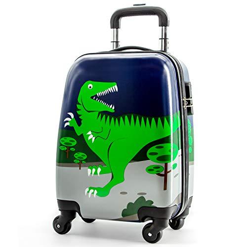 Lttxin kids' suitcase 16 inch Polycarbonate Carry
