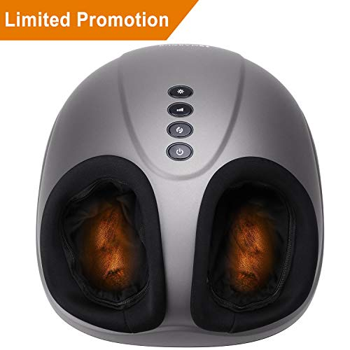 MARNUR Shiatsu Foot Massager Machine Electric Massage Deep Kneading with...