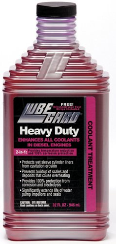 Lubegard 96430 Heavy Duty 2-in-1 Coolant Treatment, 32 fl. oz.