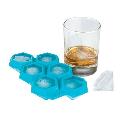 Iced Out Diamond Silicone Ice Cube Tray by TrueZoo