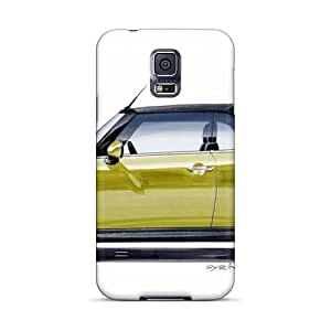 RobAmarook Samsung Galaxy S5 Protector Hard Phone Cover Custom HD Mini Cooper Pattern [IGq580lTIl]