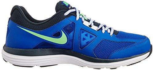 Nike Dual Fusion Lite 2 Msl Mens Lyon Blue / Poison Green - Classic Charcoal -white