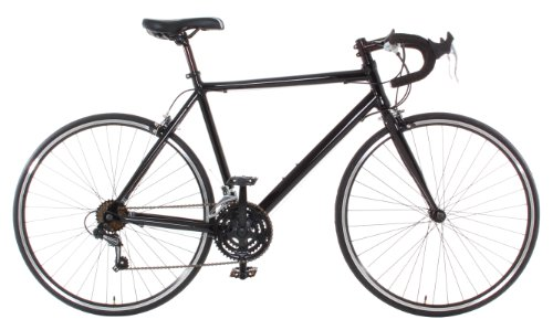 Vilano Aluminum Road Bike Medium (54cm) Commuter Bike Shimano 21 Speed 700c, Black