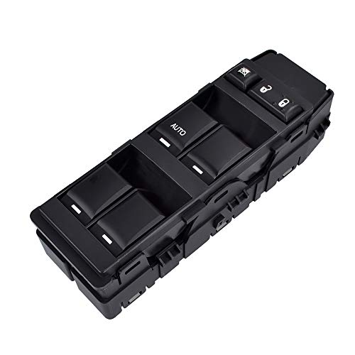 - Driver Side Master Power Window Switch | with 1 AUTO Down | for Dodge Ram Charger Magnum Caliber Avenger Dokota Chrysler 200 300 Sebring Mitsubishi Raider Jeep Compass Patriot | #4602780AA, 4602780AB