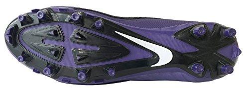 Nike Mens Alpha Pro 2 3/4 Td Tacchetti Da Calcio Nero / Bianco-nuovo Orchidea