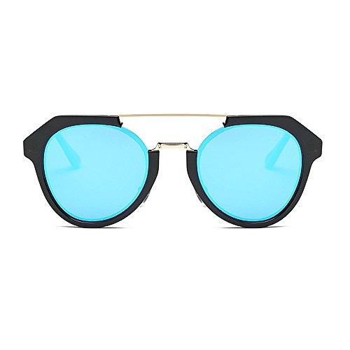 Polarisées UV Couleur Soleil Charnière Blue 400 Spring Mat Yxsd de Purple Lens Lunettes Unisexes Protection 8qn47xStw