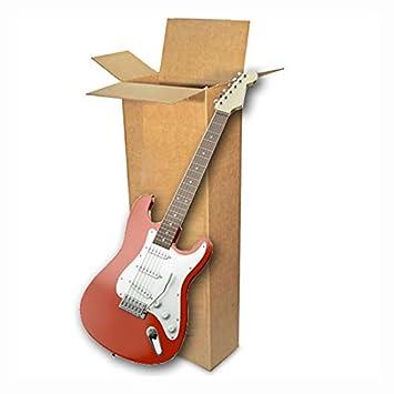 EcoBox - Caja de cartón para transportar guitarra eléctrica ...