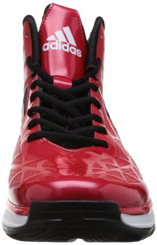 Adidas Crazy Fast 2, Chaussures de basket-ball homme, Rouge, 44