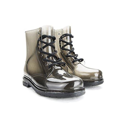 clear rain boots women - 9