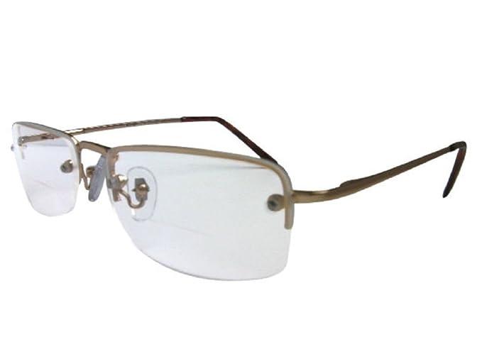 Utah - Occhiali bifocali da lettura, con cerniere a molla, lenti bifocali di qualità, lenti con protezione dai raggi UV
