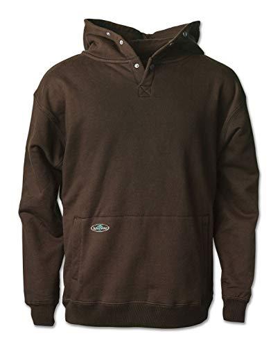 Arborwear Men's Double Thick Pullover Sweatshirt, Chestnut, X-Large -