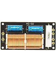 Nobsound - Divisor de frecuencia de altavoz de subwoofer pasivo para graves, cruce de graves, 300 W, 4-8 Ω