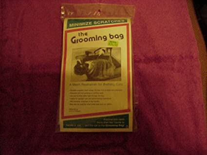 Amazon.com : The Grooming Bag for Bathing Cats. : Pet Shower And ...