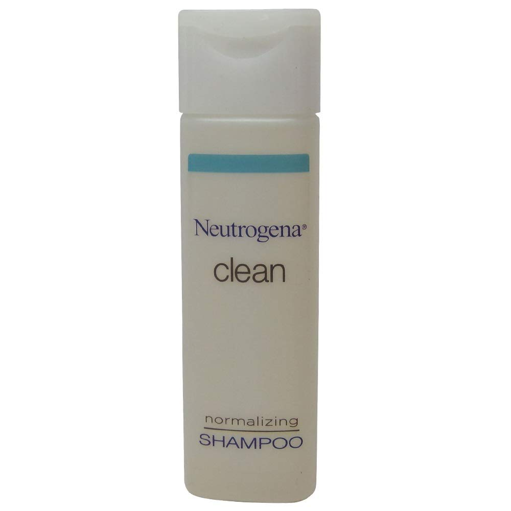 Neutrogena Clean Normalizing Shampoo 0.8 oz Lot of 24 - Total of 19.2oz