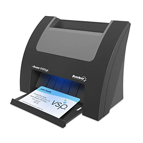 Ambir nScan 690gt High-Speed Vertical Card Scanner