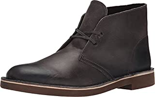 Clarks Men's Grey Leather Bushacre 2 15 D(M) US (B00UWJ3AV0) | Amazon price tracker / tracking, Amazon price history charts, Amazon price watches, Amazon price drop alerts