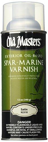 OLD MASTERS 92310 Spar Varnish, 13 oz, Satin -