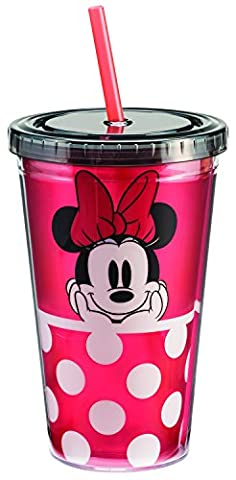Disney Minnie Mouse 18 Oz. Acrylic Travel Cup 89014