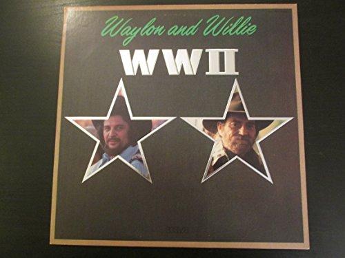 Waylon Jennings & Willie Nelson WW II Original Debut Duet RCA Records release AHL1 4455 80's Mint Country Vinyl (1982)
