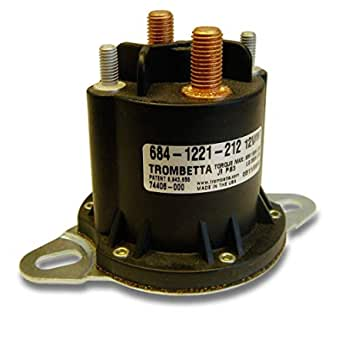 1 Pack Trombetta 684-1251-212 12V DC Contactor Power Seal