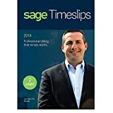 Sage Timeslips 2019, Time Tracking and Billing Software, Easy Data Entry, Over 100 Predefined Reports, Track Billable Hours, Streamline Billing Cycle, Guided Setup Wizard, Drag & Drop Design, 2-User