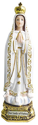 Fabulous Design Our Lady of Fatima Statue Catholic Virgin Virgen Santa Fatima Estatua 13 Inch