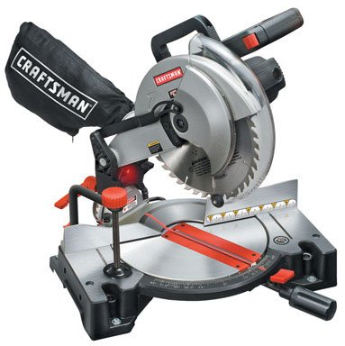 "Craftsman Mach 2 Silver Series 10"" Miter Saw 60 Tooth"