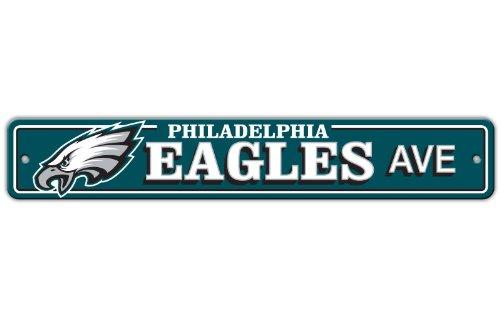 Philadelphia Eagles Plastic Street Sign Yard Signs Patio And Furniture