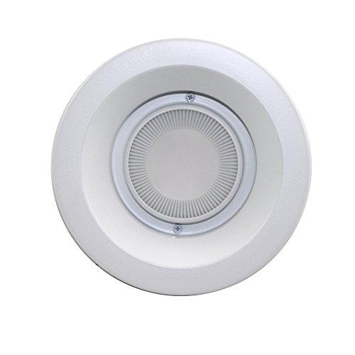 "Capri Lighting Prl6K 6"" Led Recessed New Construction / Retrofit Downlight 3000K White Philips 120V Insulated/ Non Insulated"