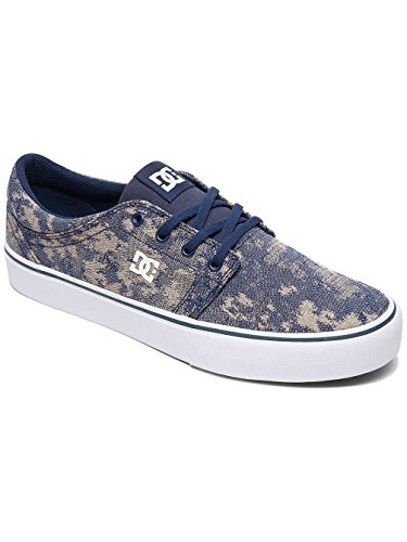 SE TX Navy M Low Men's Blue Sneakers Top Shoe DC White Trase xHz5wSqE