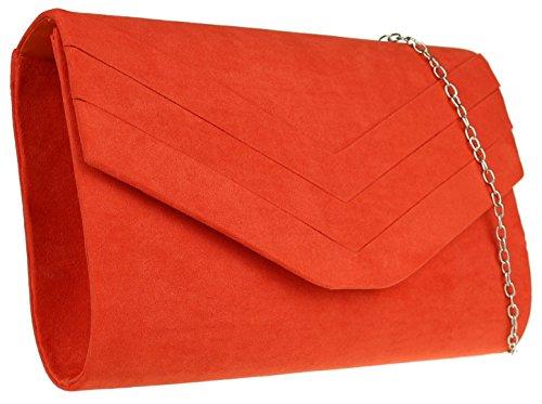 Sintético Mujer Handbags De Mano Material Scarlet Para Girly Cartera TBwqSx1w
